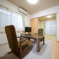 【ひまわり・鈴蘭】露天風呂付離れ:6畳和室+4.5畳和洋室