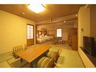 ホテル棟2階オーシャンビュー和洋室【58平米+露天風呂付】