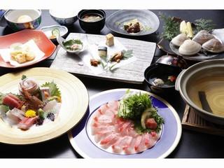 【銚子と言えばキンメ鯛!】しゃぶしゃぶ鍋をご賞味ください!