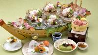 【夕食・朝食付】(飲み放題付)淡路島の旬を満喫♪新鮮お造り盛りとえびすポークせいろ蒸し御膳|8月まで