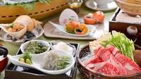 【夕食・朝食付】生しらす丼付き♪ 淡路島の旬を詰め込んだ新鮮お造り盛りと淡路牛おすすめ御膳|8月まで