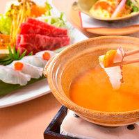 【夕食・朝食付】鮑のコキール付 桜鯛、淡路牛、由良ウニ、黄金ウニ鍋の特選御膳|5月まで