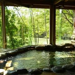 ◆【当日限定】袋田の滝とラジウム温浴を満喫【朝食付】