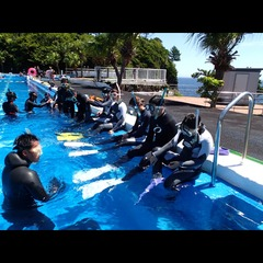 ◆【1泊3食付】体験ダイビングプラン★ライセンス不要!レンタル無料!10歳以上から参加可!