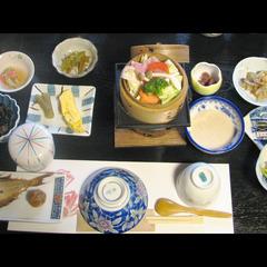 【朝から気分ほっこり♪】女将のまごころこもった朝食付きプラン<現金特価>