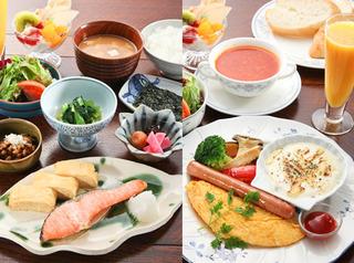 【B&Bスタイル】1泊朝食付きプラン♪和食か洋食選べます