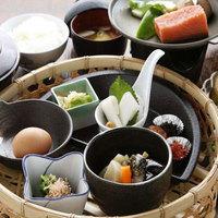 【朝食付プラン♪】蔵三内レストランでお食事いただくことも出来ます♪≪和食のお膳スタイル朝食付≫