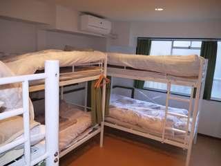 【禁煙】 男性用 ドミトリールーム 二段ベッドのベッド1台