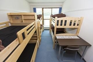 洋室2段ベット6人部屋