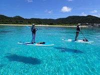 座間味の海を満喫しよう!宿泊&SUPシュノーケルツアー付プラン!ツアーの写真をデータで無料プレゼント
