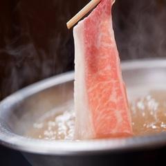 【プロの目利きで選ばれた高級黒毛和牛】肉屋直営☆和牛の旨味が溢れる♪トロけるしゃぶしゃぶプラン!