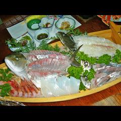 【若狭の旬】獲れたて海鮮&若狭の旬魚を舟盛りにて…♪