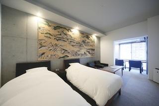 【葵 HOTEL KYOTO】ツインルーム 402 〜スタンダードプラン〜 ≪食事なし≫ 禁煙