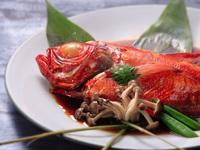 【伊勢海老の活き造り・金目鯛の姿煮付き海鮮三昧プラン】房総の海鮮懐石と安房の湯を心ゆくまで堪能