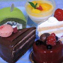 【わたし達の女子会】洋菓子屋さんのケーキ付きプラン(平日限定)※現金特価※
