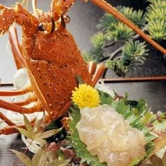 【松阪牛&伊勢海老】『肉の王様』松阪牛しゃぶDXに『海の王様』伊勢海老付♪《貸切露天無料》
