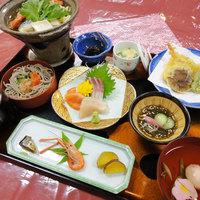 【スタンダード2食付】当館定番!山陰の季節の幸でおもてなし☆