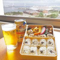 【年に一度の花火大会は横浜を満喫!】崎陽軒シウマイ弁当+缶ビール付♪