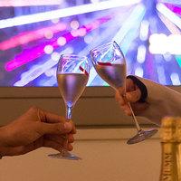 【極上夜景を二人占め!シャンパン片手にお部屋で花火鑑賞♪】ルームサービスのオードブル付♪