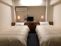 ■ツインルーム■全客室Wi-Fi完備●