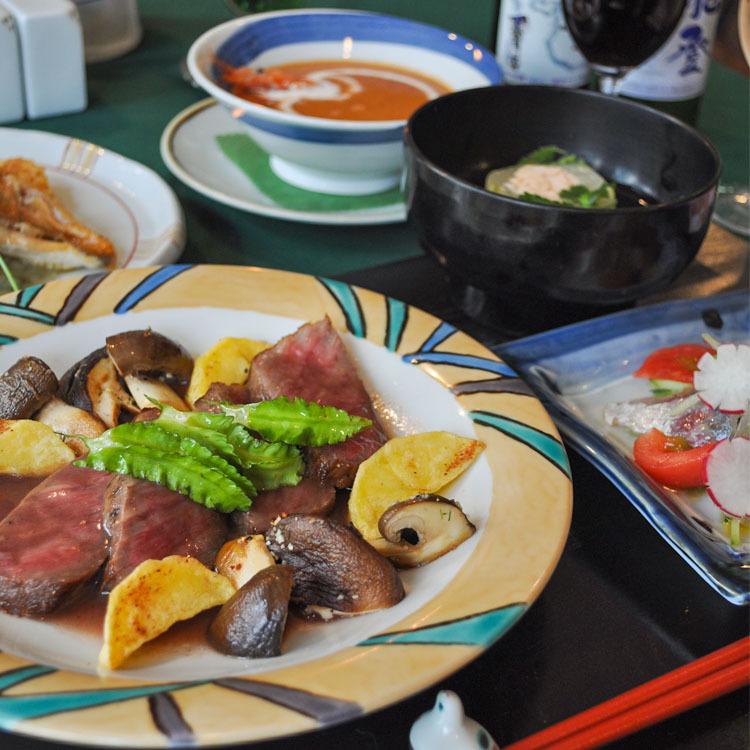 グルメ★金沢の旬の彩りを満喫「雪椿ディナー」でおもてなし