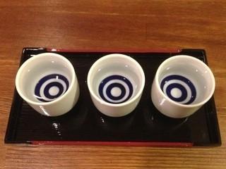【利き酒プラン】◆凱陣・金陵・綾菊◆香川の銘酒に酔い痺れる!
