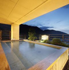 【平日限定!個室確約】鮑のお造り付!〜露天風呂付き客室1泊2食付きプラン 飛天館