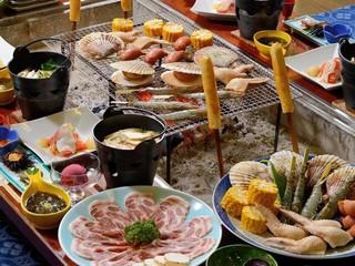 【季節の炭火炉端焼きコース】毎日お得です!十和田湖畔で別荘気分満喫!自慢の料理を御堪能ください