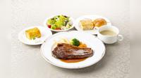【四国・岡山県民限定♪ヴァンの夕・朝食付】夕食はステーキセットをご用意!!
