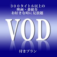 【VOD付き◆出張応援】300タイトル以上の映画がお部屋で見放題♪(素泊まり)