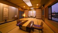 【山鯱-和室15畳-】〜角部屋〜 唐津城と街並みに、心を溶く