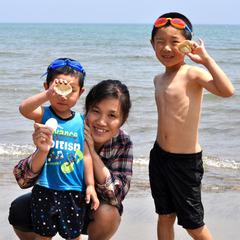 ■夏休みファミリープラン■海だ!BBQだ!自然の中でいっぱい遊ぼう\(^◎^)/