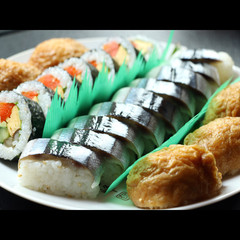 伊勢神宮外宮に奉納された伝統の秋刀魚寿司☆これが基本秋刀魚寿司会席《現金特価》