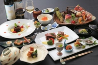 『贅沢☆二食付』大人の夕食!大人限定☆夕食グレードアッププラン