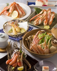 【値下げ!】カップル♪【蟹三昧】【当館一番人気】雑炊まで味わう♪カニ土鍋コース