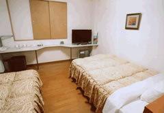 ☆禁煙☆ツインルーム140cm幅ベッド+100cm幅ベッド