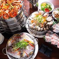 多彩な魚介を豪快に蒸し上げ☆台湾発最新グルメ『海鮮タワー』を味わう!1泊夕食付きプラン(朝食なし)