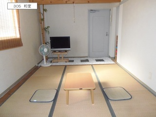 3階ワンフロアー貸切【食事なし】素泊まりプラン(最大20名)。