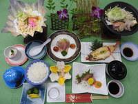 赤足海老&海鮮陶板焼き