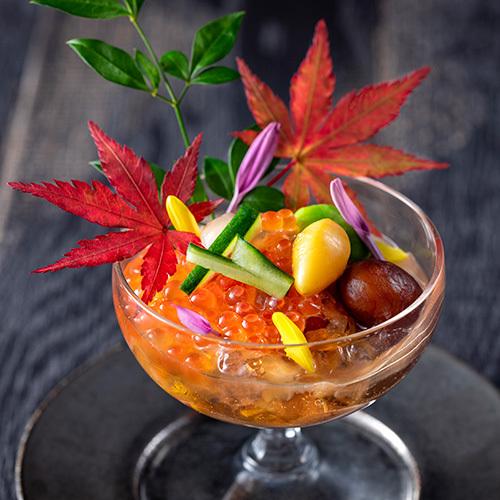 【スタンダード】北海道と全国各地の名物料理の競演!旬の幸を味めぐり/個室会席もりの風茶寮