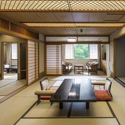【スペシャルルーム/76㎡】ご家族水入らずで。三世代旅行におすすめの二間客室