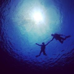 【ファミリー】【体験】【グループ】宮古島の海でいっぱい遊ぼう(体験ボートダイビング)
