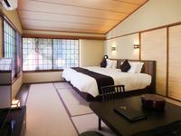 【半露天風呂付き客室】−離れ棟−「大室」■55平米■