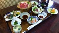 シンプルタイプの夕食プラン「梅コース・1泊2食付」