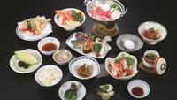 大満足の夕食プラン「松コース・1泊2食付」