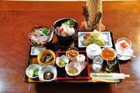 【宮城巡り 飲食特典】栗原のおもてなしプランに名物岩魚丼付プラン