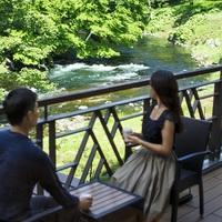【33棟記念】森側ダブル(32㎡)に+1,000円で川側客室(49㎡)にG-up!【22Hステイ♪】
