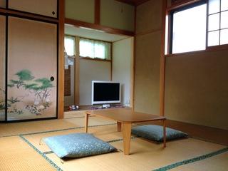 素泊まり!大谷川と日光連山を一望できる絶景の和室(現金特価)