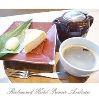 【室数限定】スイーツ&ドリンク付きプラン〜Premier Lounge〜