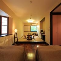 32平米の【和洋室】は快適空間!和室6畳+ベッド2(2階)